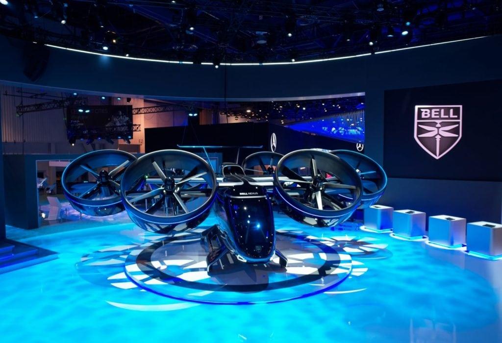 aerotaxi presentado en CES 2019