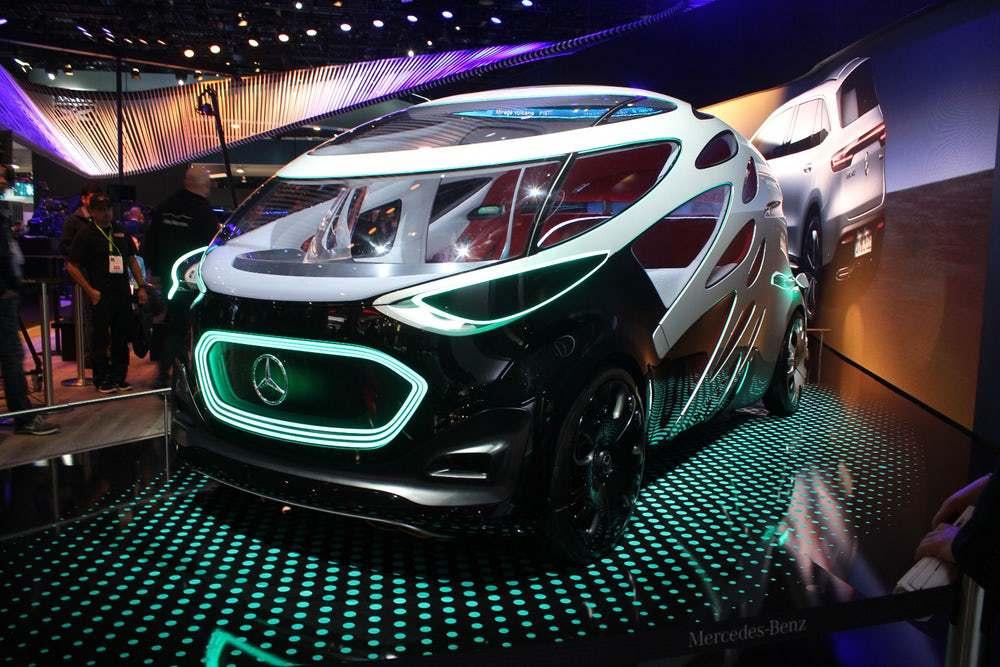 vehiculo electrico autonomo en ces 2019