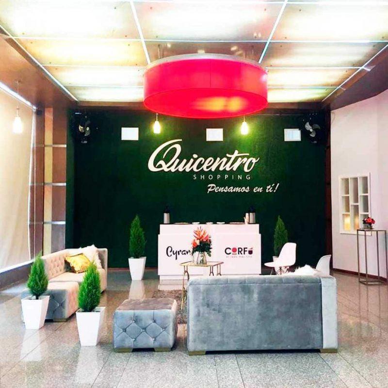 Alquiler de mobiliario Quito quicentro shopping